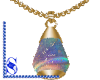 *S* Necklace_Gold