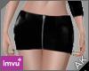 ~AK~ PVC Skirt: Black