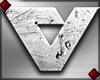Grunge Letter V