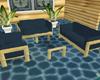 Lu's Bamboo&DkTeal Cch