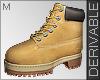 R_ Male Derivable Boots