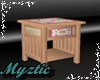Pinks Green Night Stand