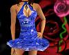 [D] Blue Tutu Dress