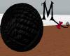 BIG black Yarn Ball! Anm