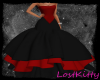 ~LK~ Blk&Red Formal Gown