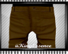 *K* Dark Brown Pants
