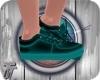 TT: Teal Rave Shoes
