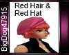 [BD] Red Hair & Hat