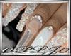 Nails White Diamond
