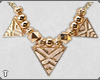 T. Gold necklace