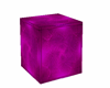 cube/crate purple metal