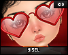 Y. Happy Heart Glasses
