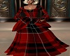 Red Celtic Gown
