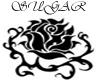 (S)Black Rose Chair