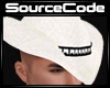 White Stud Cowboy Hat