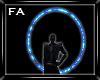 (FA)Back Halo Blue