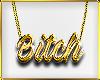 C|B!tch Gold Necklace