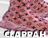 LV x Balenciaga (pink)