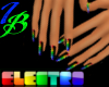 [IB] ELECTRO Rave Nails