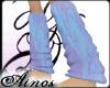 {A}Nastick BlueLila Sock