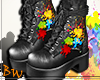 BW  Gray Paintball Boots