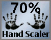 Scale Hand 70% M