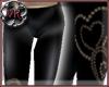 [VK]Leather Heart Capris