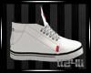 ll24ll LEVI'S WHITE SHOE