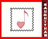(N) Heart-47 Stamp