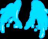 Lapis Lazuli Water Wings