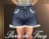 PdT Blue&Lace JeanShorts