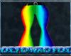 Flare Pants (Rainbow)