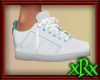 Sneakers White w/Teal