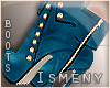[Is] Casual Blue Boots