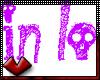 (V) In Love Sticker