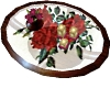 Coffee Table Red Roses