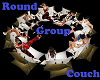 Round Group Couch
