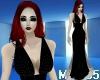 Gotico Black Dress