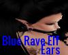 {DS} Blue Rave Elf Ears