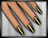 N| Nails [Black/Gold]