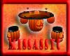 Halloween table set