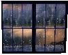 Skys Rainy Window