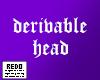 Derivable default head 2