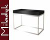 MLK Silver Sofa Table