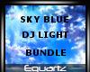 Sky Blue DJ Light Bundle