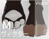 ヴ. FurryFeet-White M
