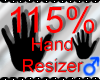*M* Hand Scaler 115%