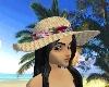 (2F)tropical beach brim