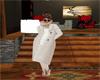White Wool Long Coat