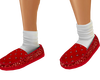 Bandana Slippers RED